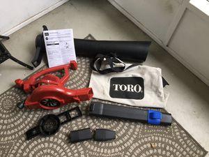 Photo Toro Electric Blower Vacuum Mulcher (Model# 5169)