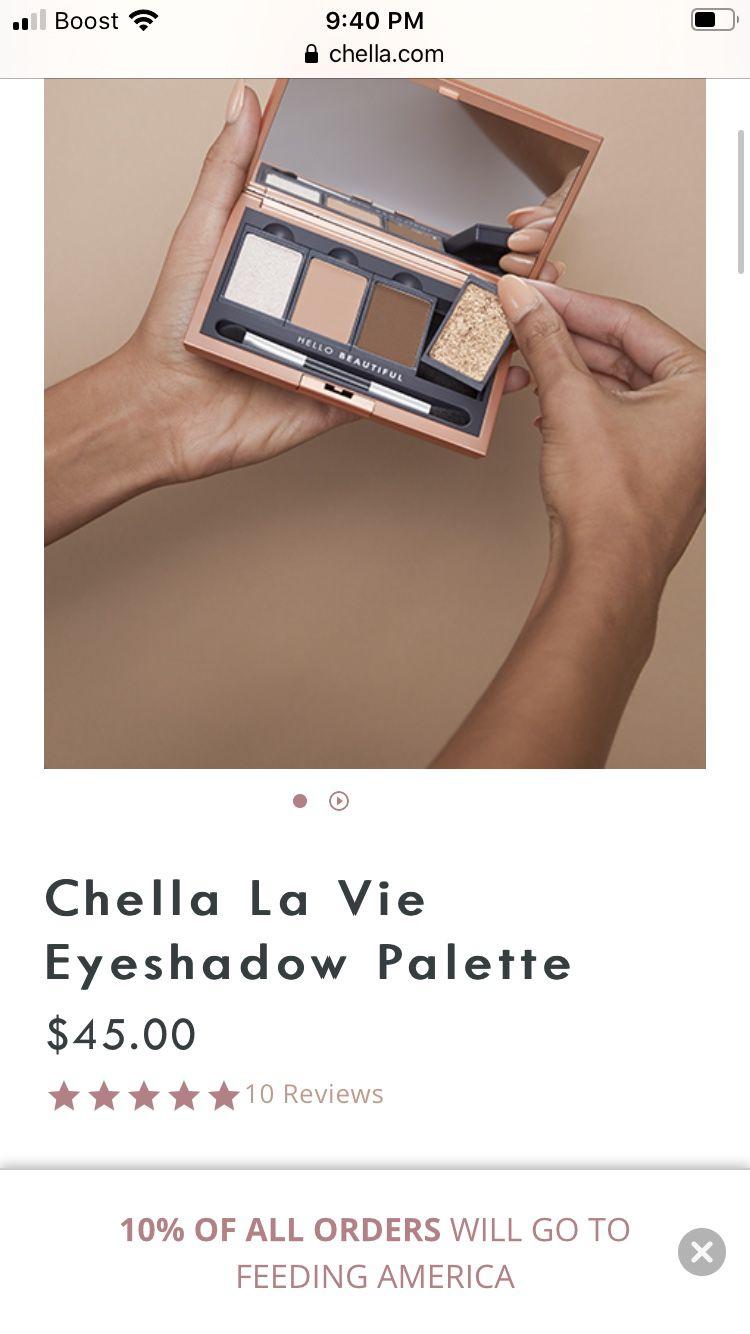 La vie chella eyeshadow palette