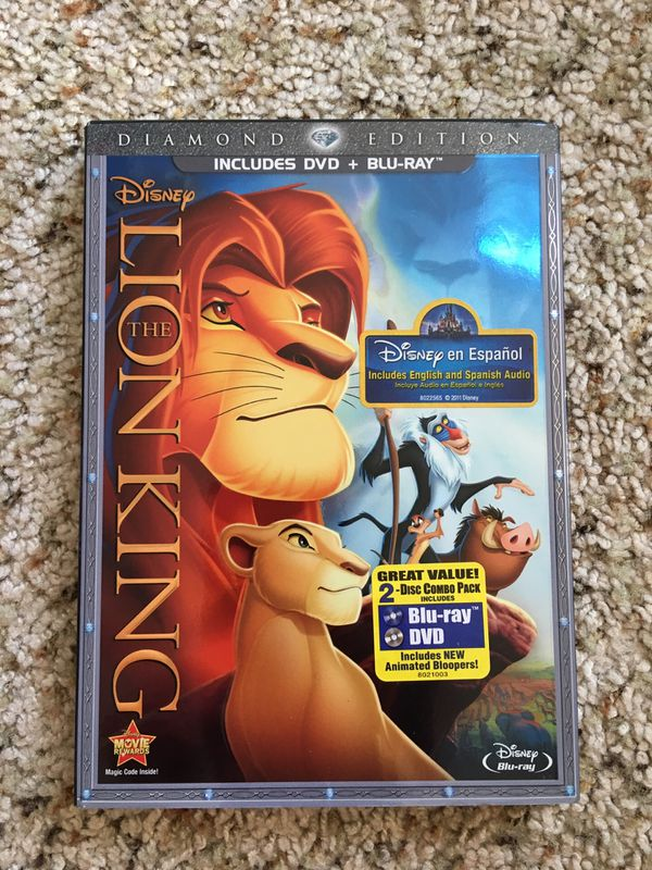 Disney The Lion King Diamond Edition Blu Ray For Sale In Hillsboro Or Offerup