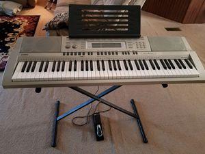 Casio WK200 Keyboard for Sale in Farmville, VA