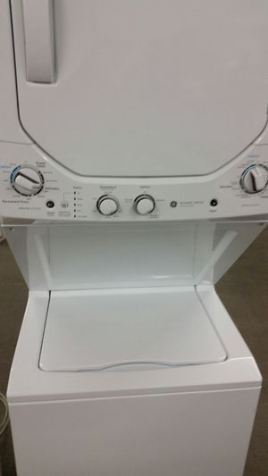 Like new washer and dryer stak 4 months warranty for Sale in Alexandria, VA