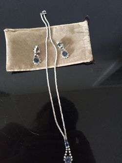 Set necklace earring fine Jewelry Thumbnail
