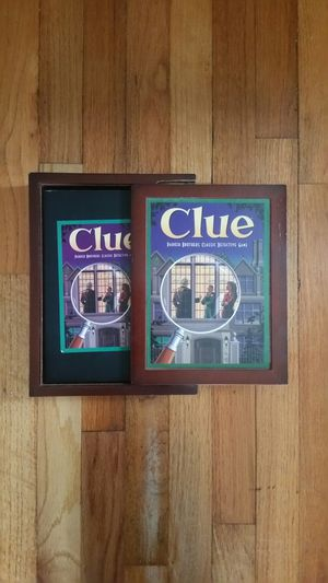 Adult's and kids CLUE Game, new in original box, very entertaining and meditation for Sale in North Arlington, NJ
