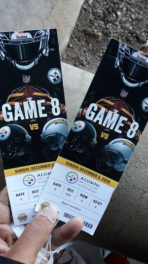 Two Steelers tickets for Sale in Pittsburgh, PA