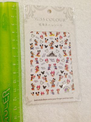 Disney Mickey Mouse and Hello Kitty Nail Stickers for Sale in Silver Spring, MD