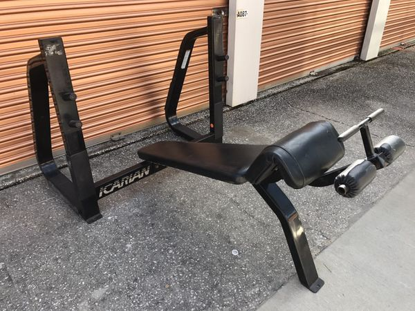 Precor Icarian Commercial Decline Weight Bench For Sale In Davenport Fl Offerup