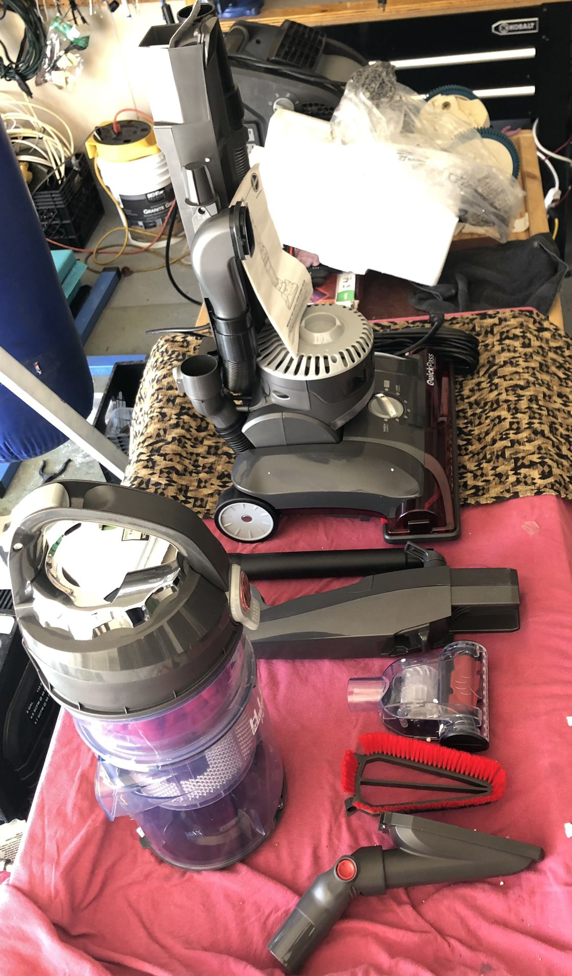 Hoover WindTunnel 3 High Performance Pet Bagless Corded Upright Vacuum Cleaner….NEVER USED!!!