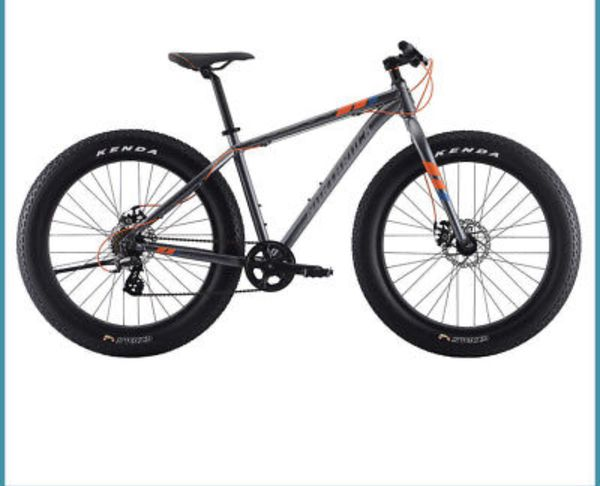 New Northrock Fat Tire Mountain Bike Aluminum Bicycles In