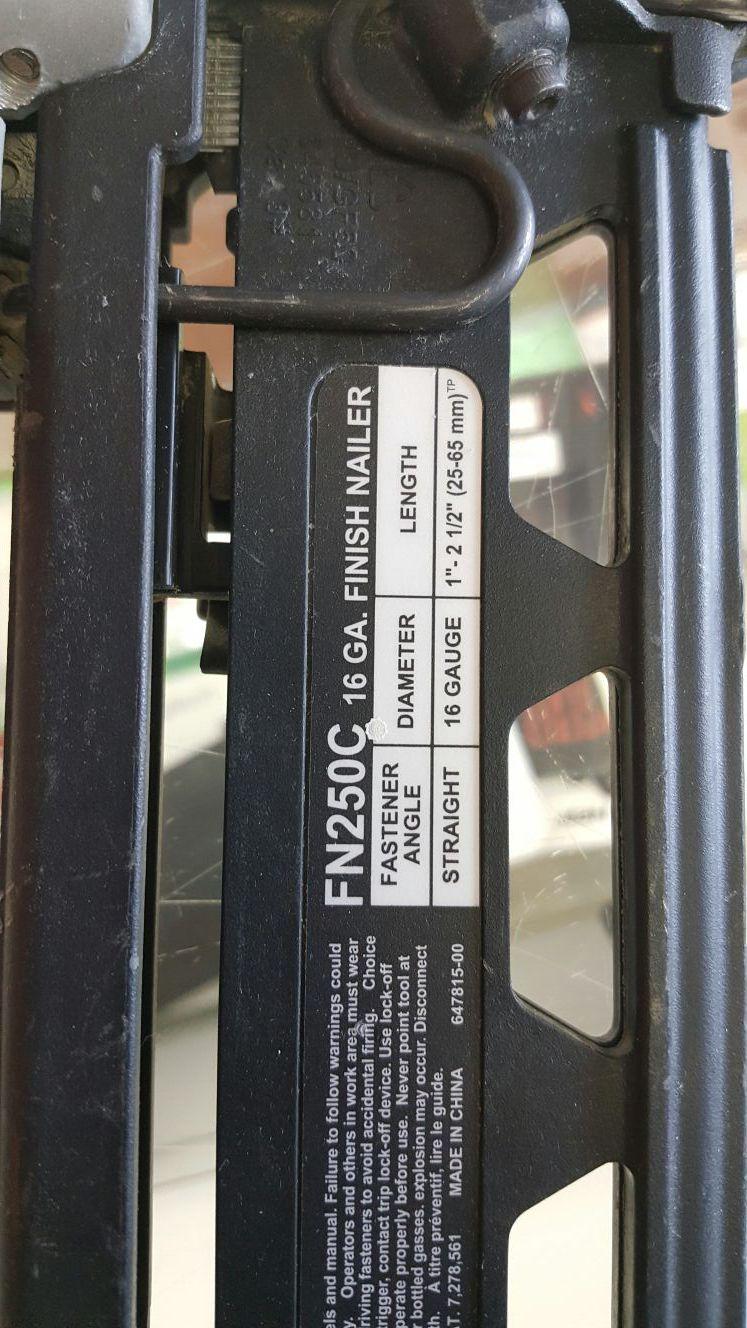 Portable Cable Pneumatic Nailer