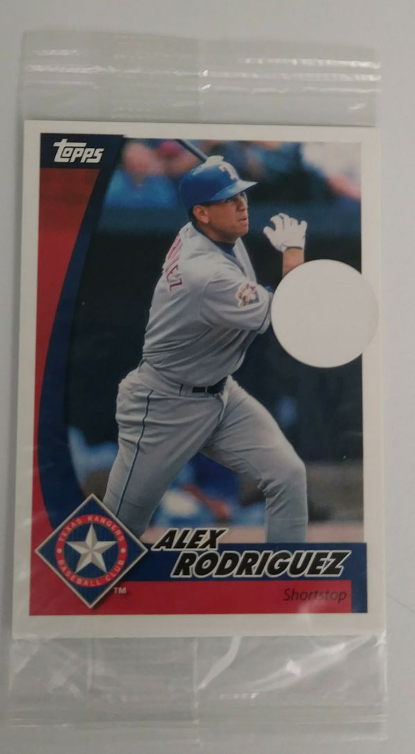 Unopened Post Cereal Topps Trading Card Featuring Alex Rodriguez For Sale In Naples Fl Offerup