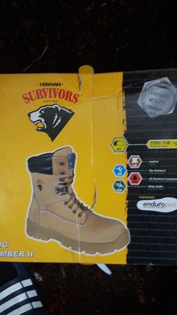 0e4d7fe157e survivor steel toe boots for Sale in Tacoma, WA - OfferUp