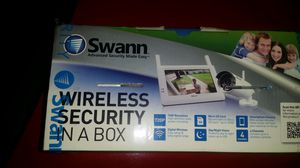 Swan wireless security in a box for Sale in Alexandria, VA