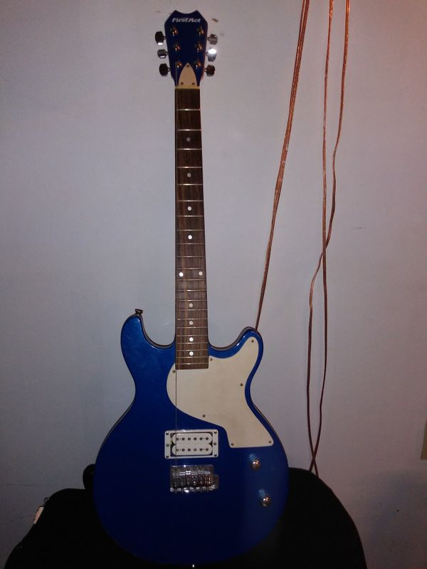 First Act Beginner Guitar Blue Electric
