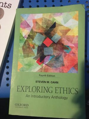 EXPLORING ETHICS , an introductory Anthology for Sale in Miami, FL