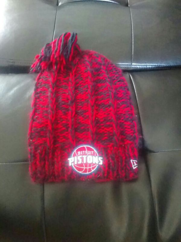 Women s knitted Pistons winter hat for Sale in Macomb ceb1f178f73