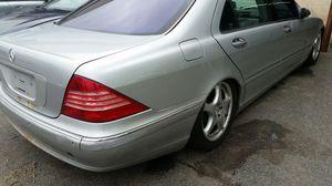 2001 mercedes benz s500 PARTS!!!! for Sale in Laurel, MD
