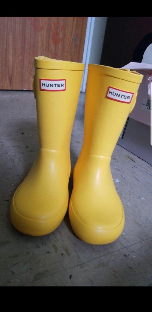 249c3de6dce Hunter rain boots 11c for Sale in New York