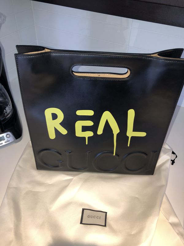 fe03ce8c1 GucciGhost Large Leather Tote Bag for Sale in Dallas, TX - OfferUp
