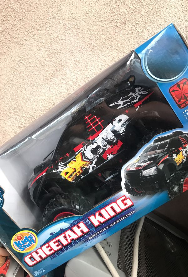 Boy Toys Radio Control Cars Baja Runner Cheers King Black Widow Racer New In Boxes Nice For Birthday Gifts