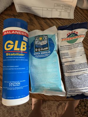 Pool/hot tub chemicals for Sale in Puyallup, WA