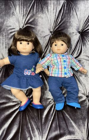 Photo American Girl bitty baby twins