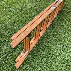 Werner 6 Foot Wood Ladder Thumbnail