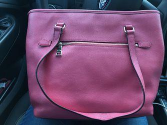 Pink coach purse Thumbnail