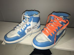 Jordan 1 Off White UNC Size 4.5 for Sale in Parkville, MD