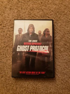 Mission Impossible: Ghost Protocol DVD for Sale in Greenbelt, MD