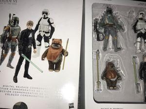 Star Wars Return of the Jedi action figure set Luke Skywalker Wicket the Ewok Boba Fett for Sale in Orlando, FL