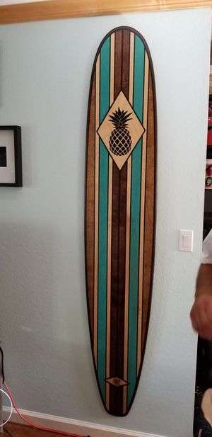 7ft wood surfboard for Sale in San Diego, CA