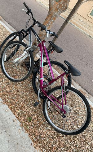 Men's and woman's Bikes for Sale in Phoenix, AZ