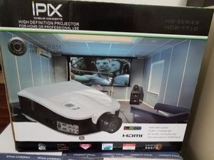 "Proyector,pantalla 72"",sonido de teatro for Sale in Houston, TX"