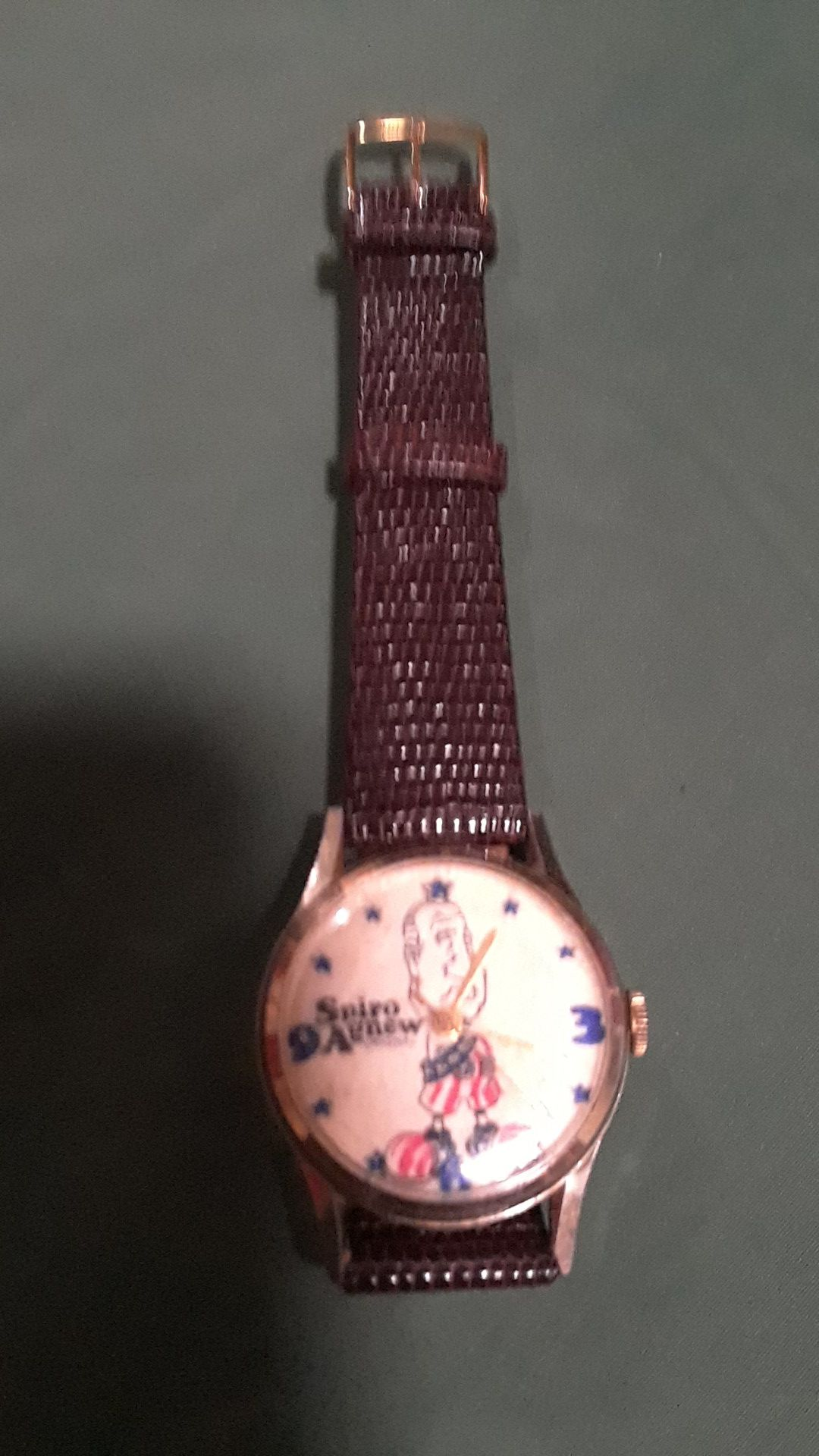 Vintage Spiro Agnew Watch