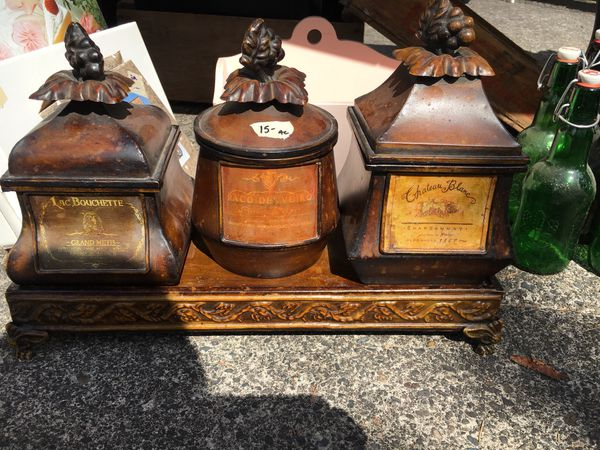 Tuscan kitchen canisters for Sale in Battle Ground, WA - OfferUp