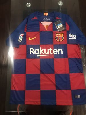 FC BARCELONA Anniversary Jersey Medium for Sale in Sterling, VA