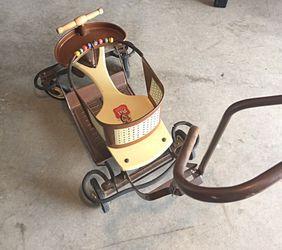 Antique Firestone Pal walker 1940's Thumbnail