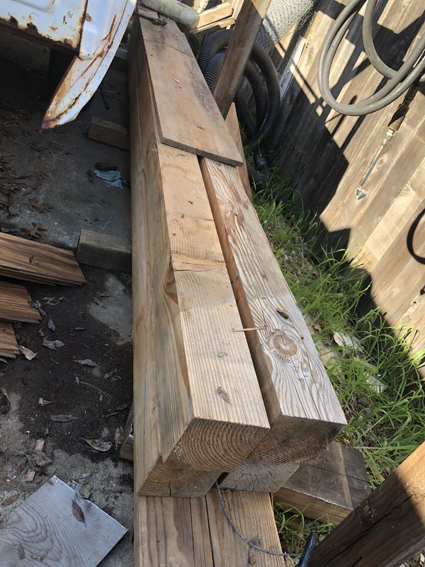 4x4 Wood Post H For Sale In Sacramento Ca Offerup
