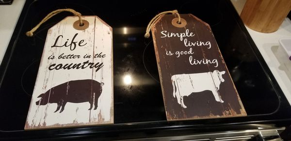 Country Kitchen Signs For Sale In Kent Wa Offerup