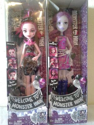 MONSTER HIGH DOLL SET OF 4 for Sale in Hayward, CA