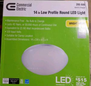 New in box 14inches round LED LIGHT for Sale in Saint Petersburg, FL