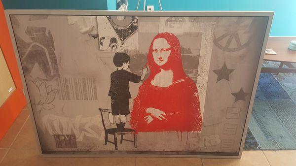Ikea Vilshult Wall Art Mona Lisa For Sale In Dania Beach