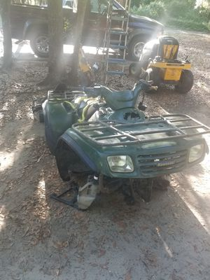 Photo Kawasaki brute force 650 prairie selling whole for parts