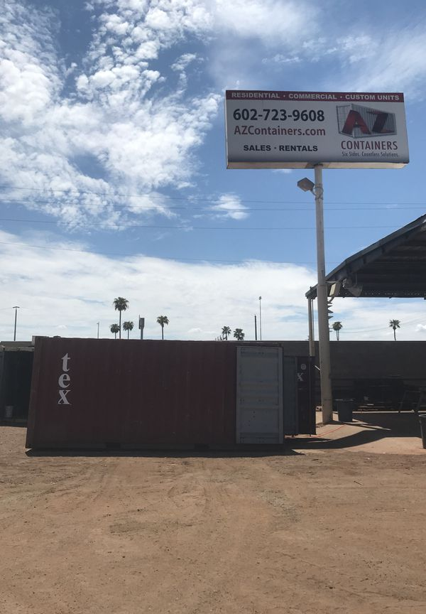 8x 20 connex shipping containers standard and high cube LOCAL HUGE