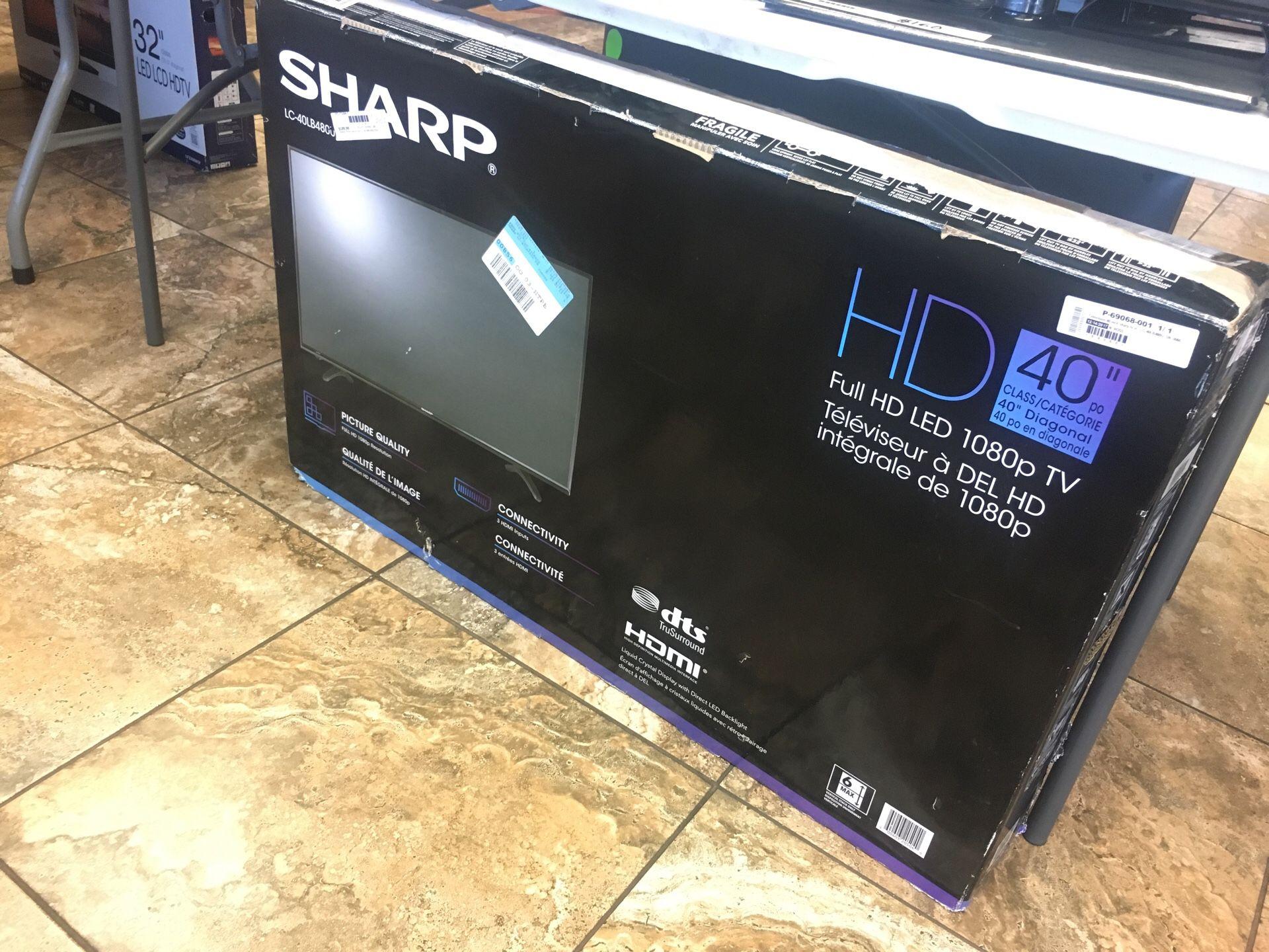 """Sharp 40"""""""