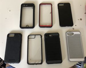 iPhone 8 Plus Cases Barely Used for Sale in Falls Church, VA