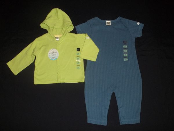 53ed3add2178 NWT Baby Gap Boys 3-6M Jacket   Romper Outfit Set for Sale in Tacoma ...