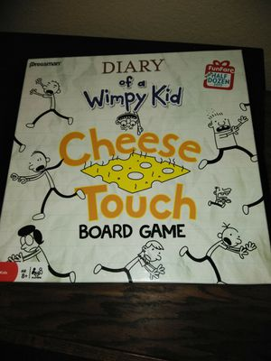 Diary of a wimpy kid cheese game for Sale in Tacoma, WA
