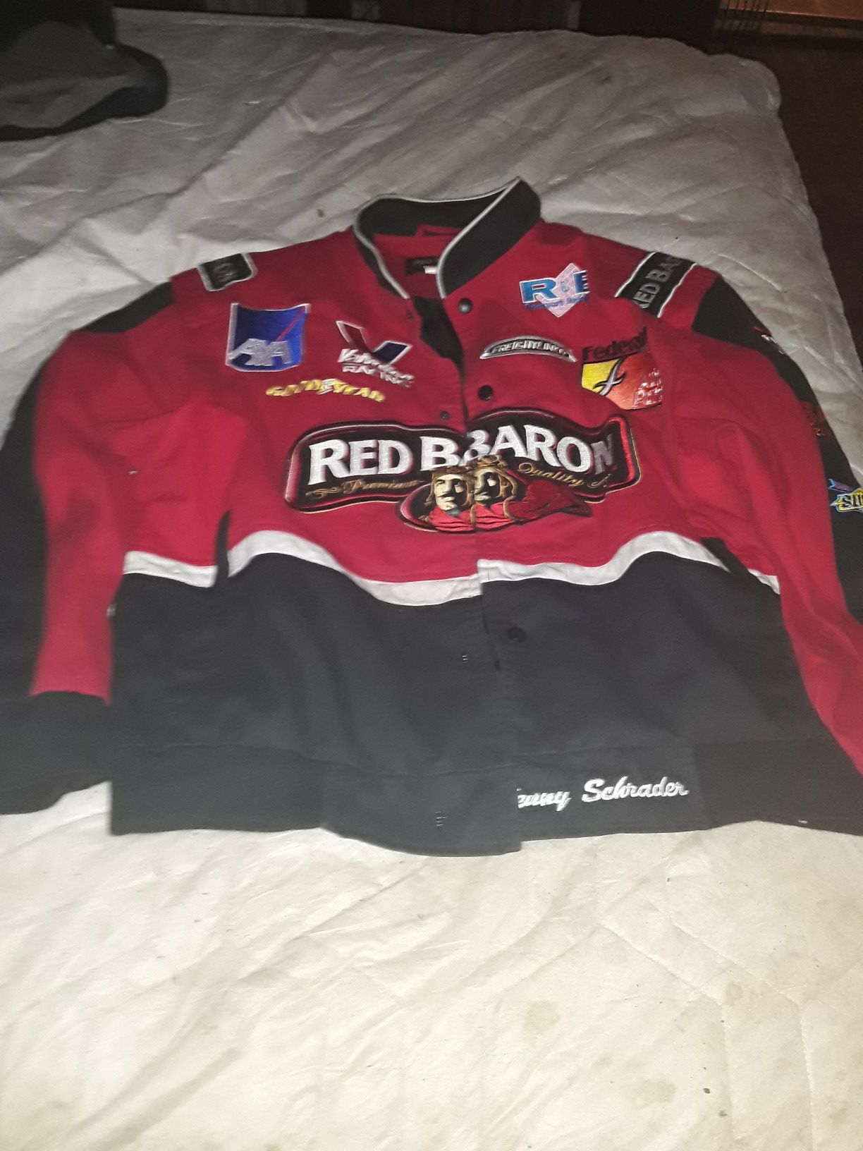 Red baron racing jacket XL