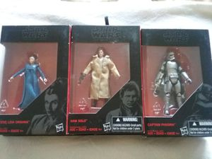 Star Wars The Black Series 3 Piece lot for Sale in Orlando, FL